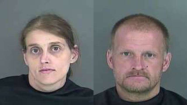 Vickie Clark and Bobby Joe Johnson (Source: Anderson County Sheriff's Office)