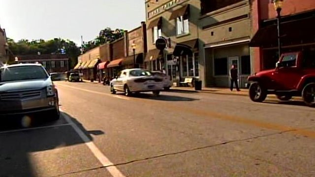 Ram Cat Alley is located in downtown Seneca. (Sept. 23, 2013/FOX Carolina)