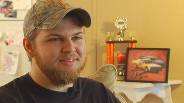 Dylan Chappell talks about his love for racing. (File/FOX Carolina)