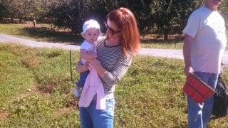 Kendra and Stella at Skytop Orchard