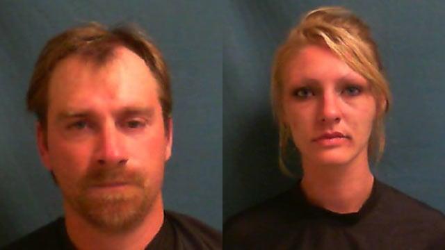 Robert Morgan (Left) and Jessica Blackmon (Source: Greenwood City Police)