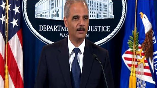 Attorney General Eric Holder holds a press conference about the voter ID lawsuit. (Sept. 30, 2013/CNN)