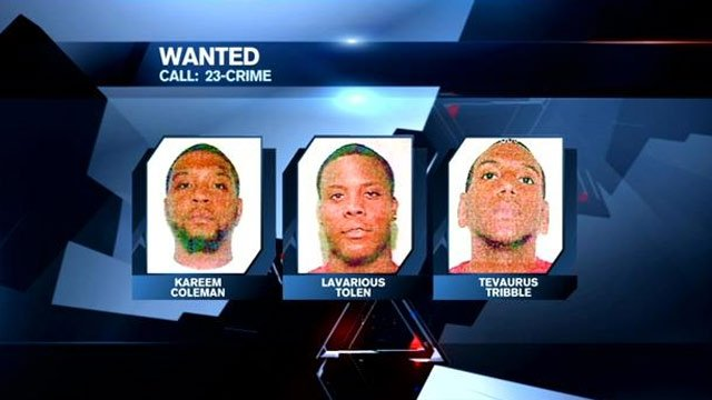 Fountain Inn police say these men are wanted in connection with Samples' death.