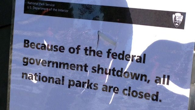The sign posted at Cowpens National Battlefield. (Oct. 1, 2013/FOX Carolina)