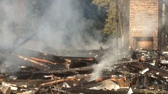 Remnants of Anderson house fire (FOX Carolina)