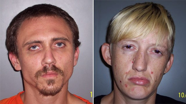 Mitchell Lyons (L) and Ashley Smith. (Source: Laurens Co. Detention Center)