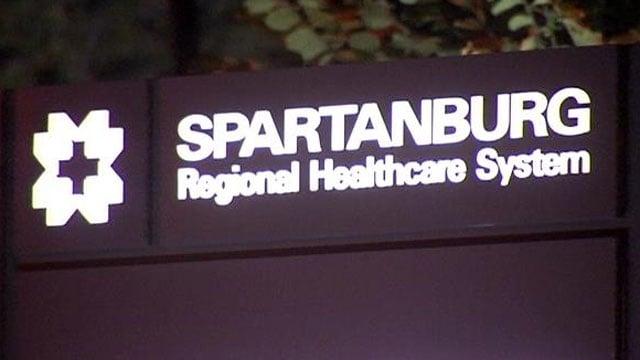 Spartanburg Regional Healthcare System is located in Spartanburg, SC. (OCt. 8, 2013/FOX Carolina)