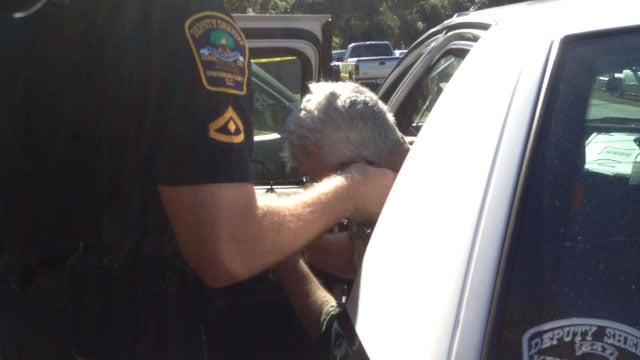 Person taken into custody. (Oct. 11, 2013/FOX Carolina)