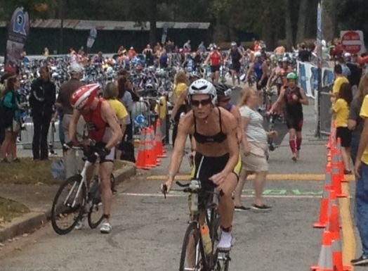 Over 800 Athletes from near and far tested their endurance during The Revolution 3 Triathlon in Anderson.