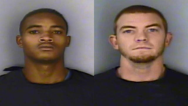 Zanquirous Hurley (L) and Cory Griffin (Source: Greenwood Co. Sheriff's Office)