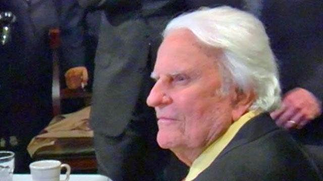 Rev. Billy Graham (File/FOX Carolina)