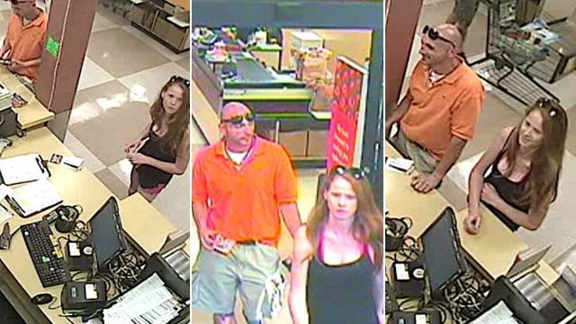 Charmant Deputies Say This Man And Woman Are Wanted In Connection With The Break Ins.