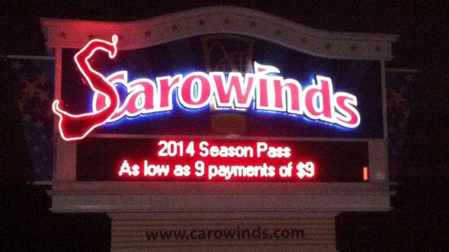 carowinds turns into scarowinds for halloween oct 17 2013fox carolina - Halloween Haunted Houses Charlotte Nc