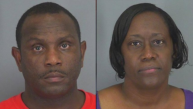 Rodney Thompson and Janice Price. (Source: Spartanburg Co. Detention Center)