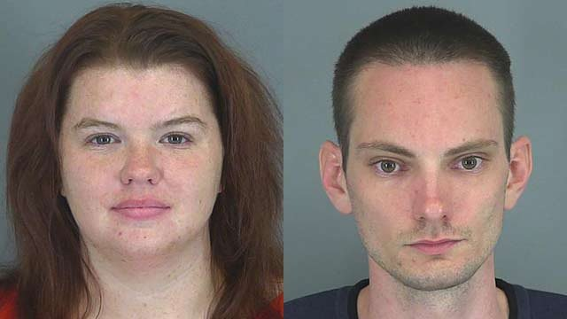 Derrick Lister and Catherine Lister (Source: Spartanburg Co. Sheriff's Office)