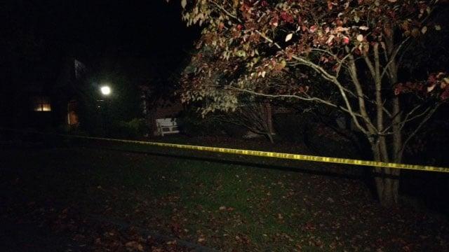 Scene of the shooting (Oct. 22, 2013/FOX Carolina)