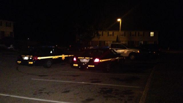 Greenville county deputies investigate robbery. (FOX Carolina)