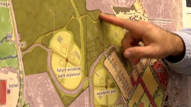 Part of the plans for the proposed development. (Oct. 23, 2013/FOX Carolina)