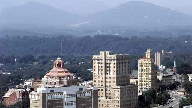 Asheville skyline (Source: AP)