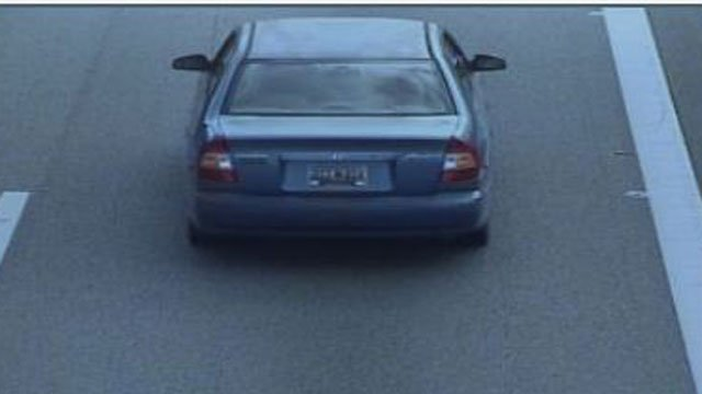 The car they are believed to be traveling in. (Source: SLED)