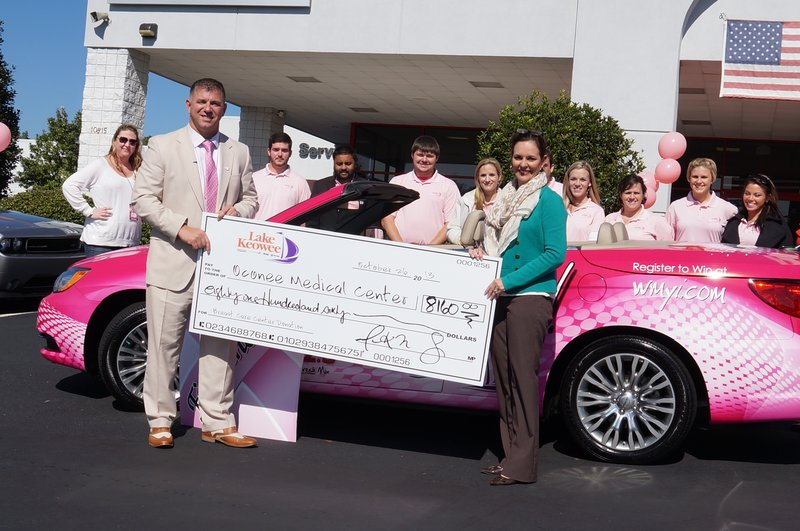 Local business gives donation to Care Center at Oconee Me ...