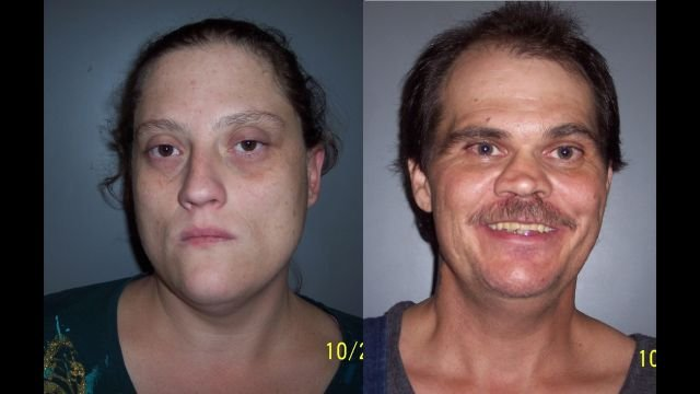 Barbara Beck (left) and Robert Beck, Jr. (Source: Laurens County Sheriff's Office)