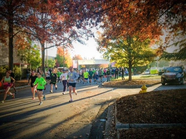 "Over 200 runners participated in ""Rally on the Rabbit"" Saturday morning."