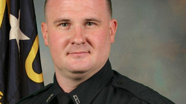 Asheville Police Officer Robert Bingaman died after his car went over the Jeff Bowen Bridge. (FOX Carolina)