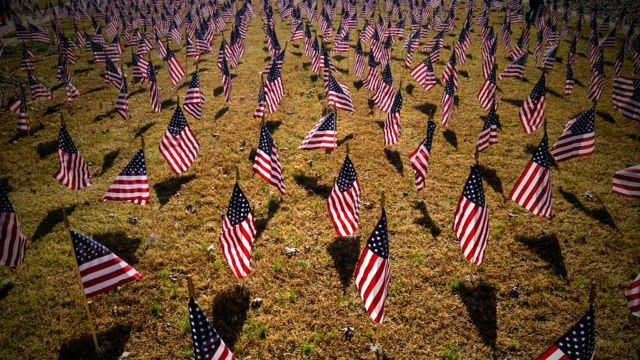 Simpsonville honors veterans with field of flags