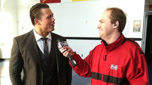 The Miz talks with Joe Gagnon. (Nov. 4, 2013/FOX Carolina)