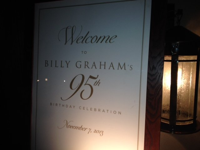 Hundreds gathered for Graham celebration (11/7/2013)