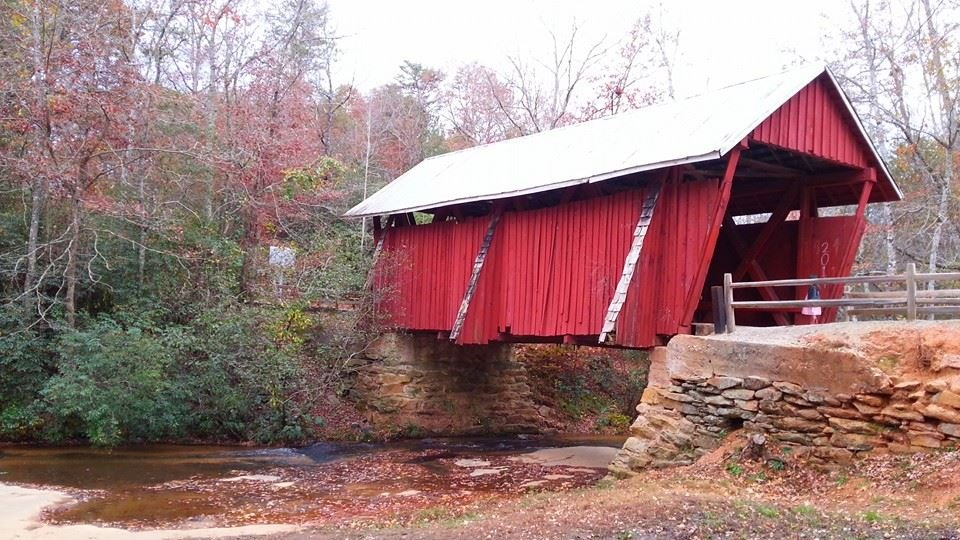 Campell's Bridge,  Greenville County  South Carolina