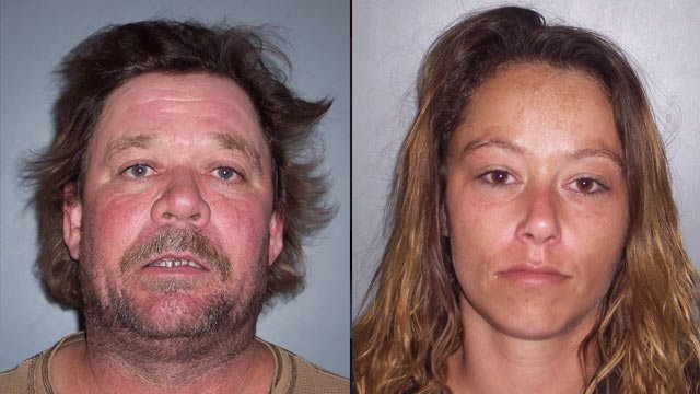 Bruce Smith and Brandy Deyton. (Source: Laurens Co. Sheriff's Office)