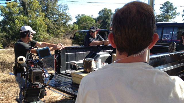 Filmmakers on set of a movie in Oconee Co. (File/FOX Carolina)