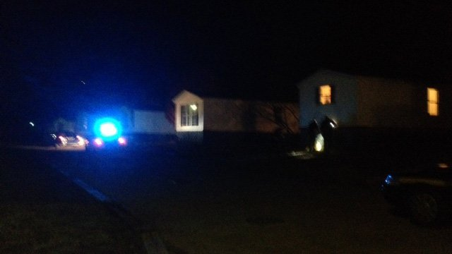 A woman was shot in the hand during a robbery on Tuesday. (Nov. 19, 2013/FOX Carolina)