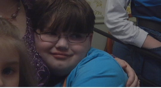 Noah Estes, who suffers from mitochondrial encephalitis. (Nov. 20, 2013/FOX Carolina)