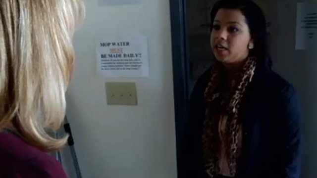 Celeste shows Diana Watson around Pendleton Place. (File/FOX Carolina)