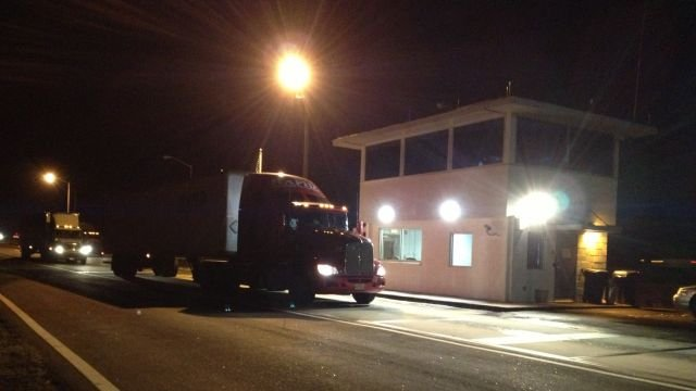 An old weigh station reopens with high-tech equipment along I-85. (Nov. 21, 2013/FOX Carolina)