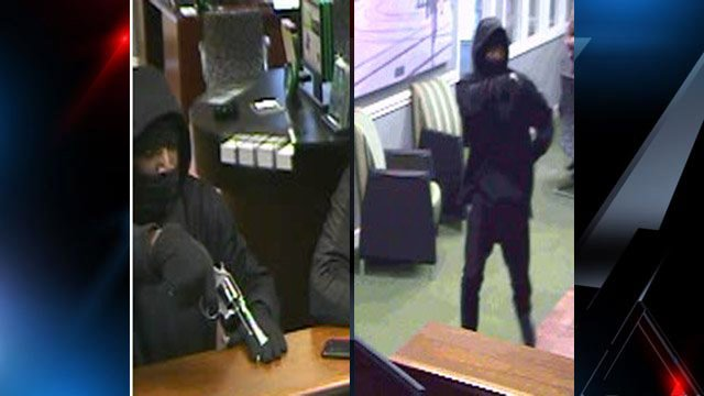 Police say this man robbed the TD Bank. (Nov. 22, 2013/Easley Police Dept.)