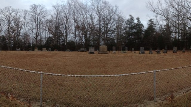 Deputies said the thefts happened at Flat Rock Cemetery in Jonesville. (Dec. 4, 2013/FOX Carolina)
