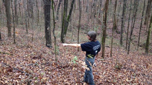 Carolina Society for Paranormal Research and Investigation looks for Bigfoot. (Dec. 5, 2013/FOX Carolina)