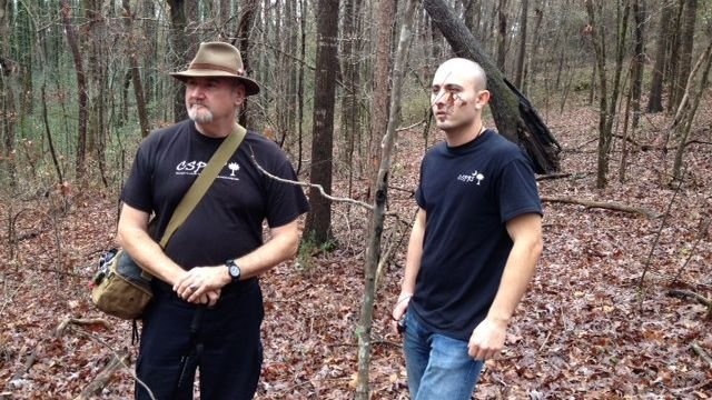 Carolina Society for Paranormal Research and Investigation looks for Bigfoot. (Dec. 5, 2013/FOX Carolina)