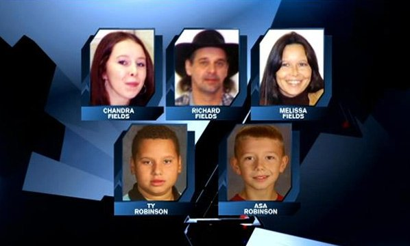 Jade Fields Spencer's family members who died in the shooting. (Source: Fields family)