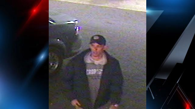 Deputies are looking for this person of interest in the burglary. (Source: Spartanburg Co. Sheriff's Office)