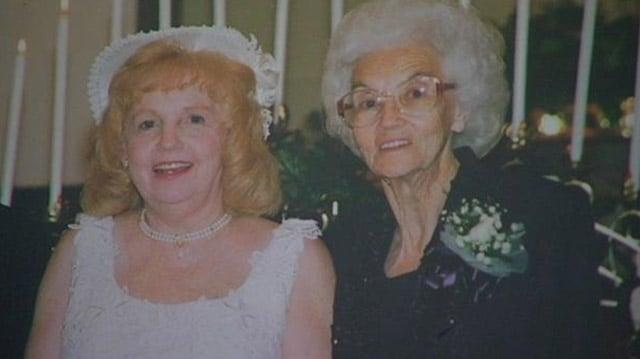 Trudie Rhinehart (L) and her mother Dora Scroggins. (Courtesy: Trudie Rhinehart)