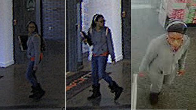 Police say this woman is accused of stealing a credit card from CU-ICAR. (Source: Greenville Police Dept.)