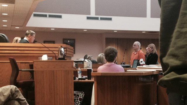 Arflin was denied bond a second time on Jan. 22 (Jan. 22, 2014/FOX Carolina)