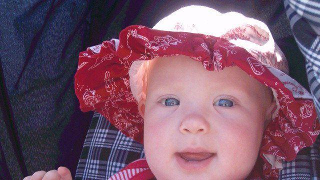 Audrina Claire Hepburn (Courtesy: Ebel family)