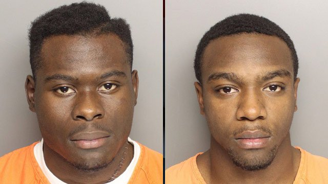 Clint Wright (R) and Lamin Yansaneh (Source: Greenville Police Dept.)