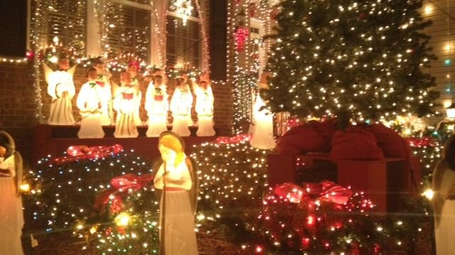 Mauldin Family Offers A Free Holiday Lights Display Through Jan  - Christmas Lights In Sc
